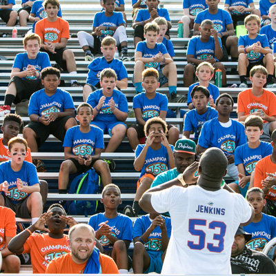 4c155017760 NFL Players Association - NFL Players Give Back with Youth Football ...