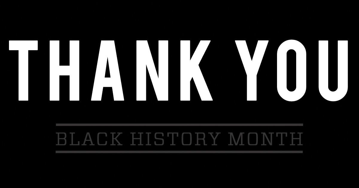 Image result for thank you black history month""