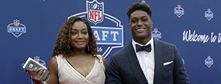 La Sonjia and son Myles Jack