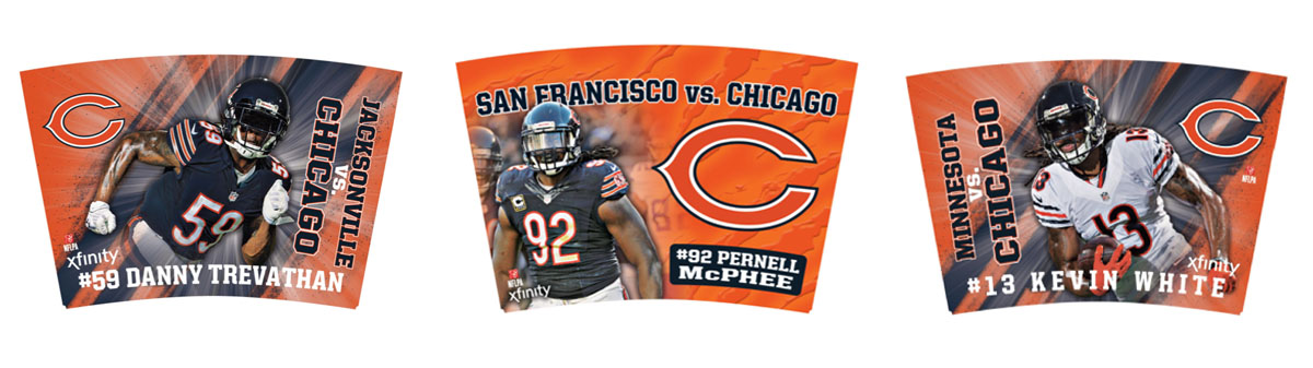 NFL Players Inc  - Xfinity Chicago Bears Mug