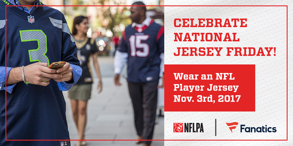 NFL Players Inc  - One Day, One Jersey, Millions of Fans