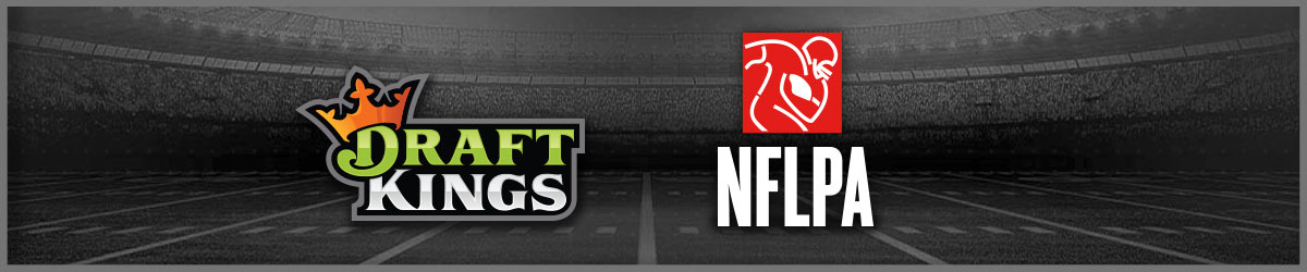 Draft Kings and NFLPA logos side by side