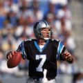 Steve Beuerlein throwing a football