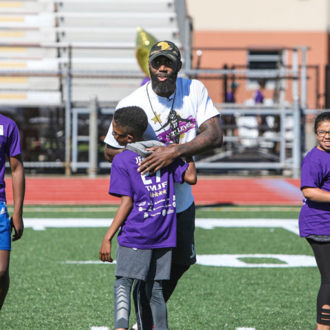 Player coaching youth sports